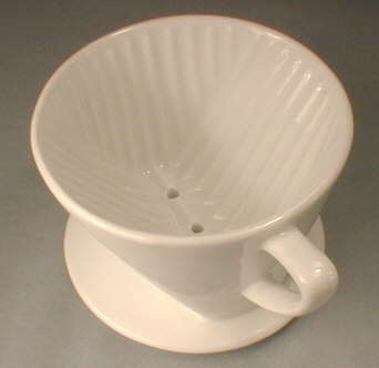 Porcelain Coffee Filter Holder