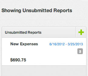 submit expense reports